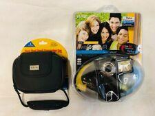 Vivitar DVR-610 2 GB Camcorder & Digital Concepts Hard Shell Small Camcorder Bag