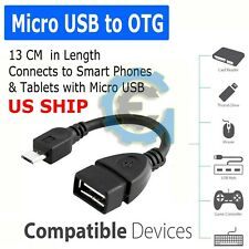 Micro USB OTG Host Cable Adapter Male to 2.0 Female For Android Tablet / Phone