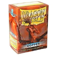 Dragon Shield Standard Size Card Barrier Protector Sleeves 100ct - Copper