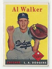 1958 Topps Al Walker Los Angeles Dodgers #203  Ex-NrMt
