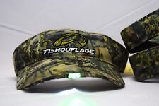 Fishouflage hat and visor with built in LED