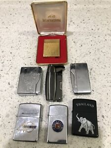 Lot Of 7 Lighters