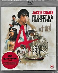 Jackie Chan's Project A & Project A Part II Blu Ray Region B Inc Registered Post