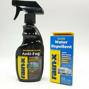 Rain-X Glass Mirror Water Repellent Anti-Fog Spray Beading Auto Truck Car Home