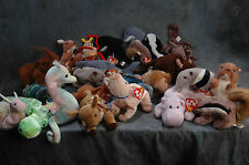 Ty Beanie Baby Collection Classic Retired Late 1990's- 2000, Over 20