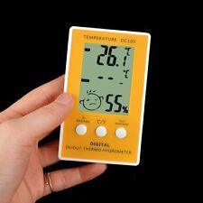 Indoor outdoor digital lcd humidité compteur thermomètre hygromètre avec sonde cabl