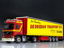 "VOLVO F12 WSI TRUCK MODELS WITH CURTAINSIDE TRAILER ""DE DRIEBAN TRANSPORT"",1:50"
