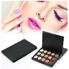 15 Colour Eyeshadow Palette Makeup Warm Nude Shimmer Cosmetic Eye Shadow Set