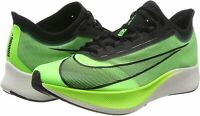 Nike Men's Zoom Fly 3 Athletic Running Shoes Electric/Vapor Green Sneaker 14