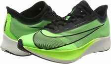 Nike Men's Size 14 M Zoom Fly 3 Athletic Running Shoes GREEN Gym Sneaker