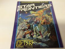 STAR FRONTIERS GAME EXPANDED GAME RULES (TSR HOBBIES/1980/GAME WIZARDS/0618644)