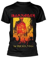 Iron Maiden 'The Wicker Man Fire' T-Shirt - NEW & OFFICIAL!