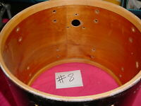 Vintage  Rare Color SLINGERLAND  60's Snare Drum Shell Peacock Sparkle Pearl #8T