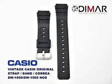 LOTE 2 CASIO ORIGINAL BAND DW-1000 / DW-1500 NOS