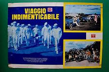 T10 FOTOBUSTA VIAGGIO INDIMENTICABILE HERMANN LEITNER VESPA PIAGGIO AUTO FIAT