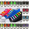 Easy Lazy No Tie Elastic Silicone Shoe Laces Cool Guy Shoelaces Kids Auldt 16PCS