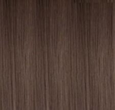 "5x 24"" Clip in ash brown Straight Hair Extensions #10"