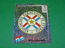N°134 BADGE ECUSSON PARAGUAY PANINI FOOTBALL JAPAN KOREA 2002 COUPE MONDE FIFA