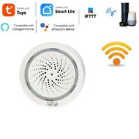 Temperatura Humedad Alarma Sensor Wifi Sirena Tuya Vida Inteligente App Y2V3