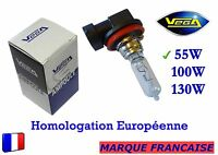 """► Ampoule Halogène VEGA® """"MAXI"""" Marque Française H9 55W Auto Moto Phare Avant ◄"""
