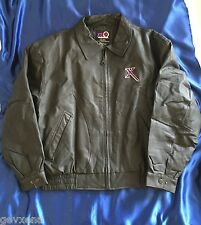 RARE OFFICIAL Xena GENUINE LEATHER Motorcycle Jacket. Size Large - BRAND NEW
