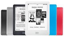Kobo Glo Ereader E-book Wifi 6in 2 GB - Black, Pink , Blue