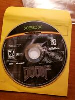 Doom 3: Limited Collector's Edition (Microsoft Xbox, 2005) - DISC ONLY