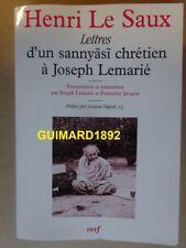 Lettres d'un Sannyasi chrétien à Joseph LemariéHenri Le Saux