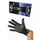 Box of Black Nitrile Gloves 4mil thick NightHawk -Medium- *MADE IN USA*