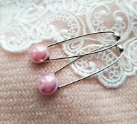 Safety Pin Brooch/Shawl/Hijab Pin/Scarf Accessories - Save on Multi Buy