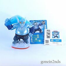 Skylanders Trap Team GUSTO + CARD + STICKER TRAP MASTER Comp with Superchargers