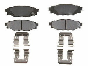 For 2013-2015 Subaru XV Crosstrek Brake Pad Set Rear AC Delco 57876QG 2014