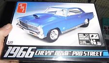 AMT 1966 CHEVY NOVA Pro Street Model Car Mountain KIT 1/25 Fs 636