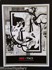 Face to *Face by D*Face & Shepard Fairey Signed dface obey not banksy dolk kaws