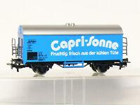 Märklin 4425 H0  2-achsiger Kühlwagen Capri-Sonne der DB, blau, sehr gut in OVP