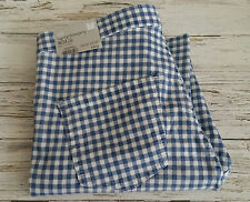 Retro Super High Waisted Skinny Checked 1950's Style Jeans by TOPSHOP. Size W34.