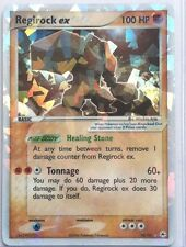 REGIROCK EX 98/101 Ultra Rare Star Holo Foil Pokemon Card