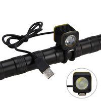 Mini USB 5000lm 4modes XML T6 LED Bicycle Light Head Bike Torch Lamp  best