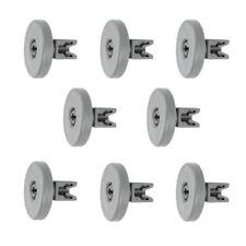 8 X Large Lower Basket Bottom Rack Wheels for Electrolux Esl6114 Dishwasher 40mm