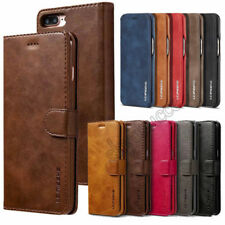 For Huawei P20 Pro / Lite Leather Slim Flip Stand Vintage Card Wallet Case Cover