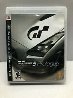 Gran Turismo 5 Prologue (Sony PlayStation 3, 2007) Complete - Tested Working