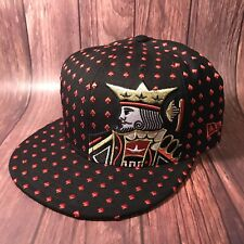 ExTREMELY RARE NEW ERA AGAINST ALL ODDS KING OF SPADES FITTED CAP/ Sz: 7 7/8