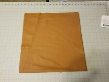 """Upholstery Leather - Muskrat Brown 16"""" x 16"""" Squares"""