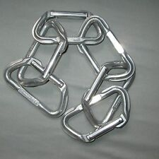 6 NEW Omega Light D Carabiners lead anchor rock carabiner top rope NEW STOCK!