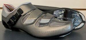 NIB Specialized ELITE ROAD Cycling Shoes, Titanium Color, Size 43 (US 9.6) NEW