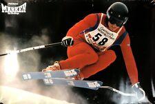 Vintage Skiing Ski Poster Marker Bindings Phil Mahre Winter 24 x 36 #33