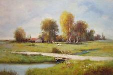 Country Road,Original Oil Painting by N. Knox, 61 x 91 cm
