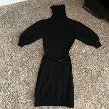 Bebe Black Sweater Dress Size XS