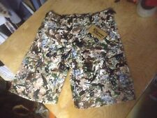 new MENS Small S 29-30-31 YEO PAINTBALL camo cargo SHORTS hunt airsoft tactical