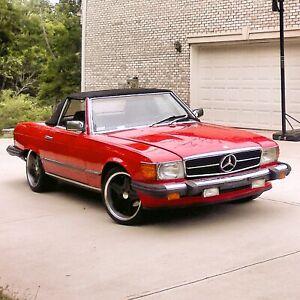 Original 1984 Mercedes-Benz 380sl Euro Headlights